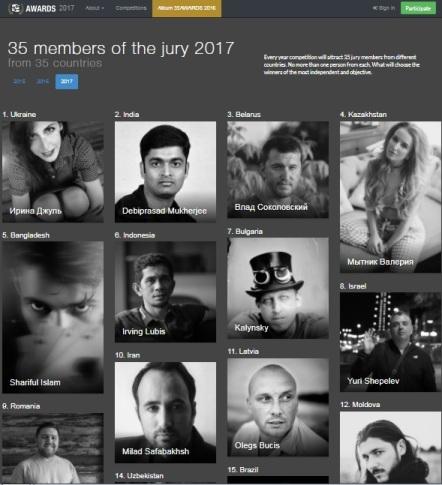 35Awards Russia Jury 2017
